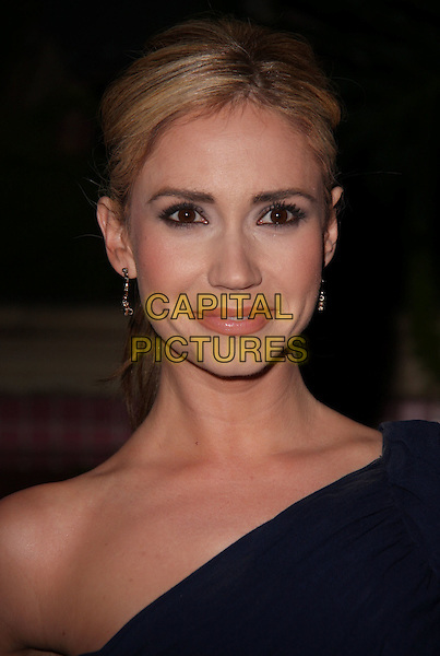 ASHLEY JONES .QVC Red Carpet Style held at The Four Seasons Hotel, Beverly Hills, CA, USA..March 5th, 2010.headshot portrait blue one shoulder .CAP/ADM/CH.©Charles Harris/AdMedia/Capital Pictures