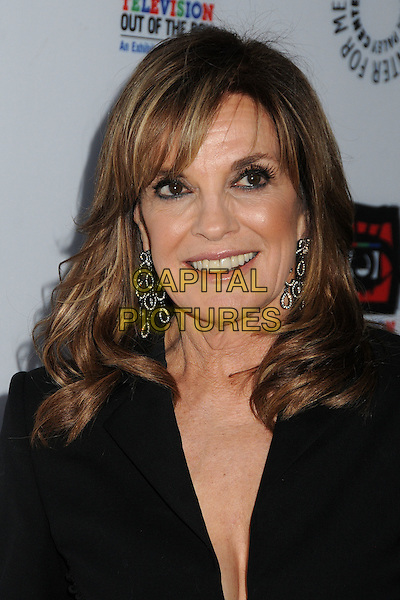 "Linda Gray.""Television: Out Of The Box"" Museum Exhibit created by Warner Bros. Television Group held at The Paley Center, Beverly Hills, California, USA..April 12th, 2012.headshot portrait black  .CAP/ADM/BP.©Byron Purvis/AdMedia/Capital Pictures."