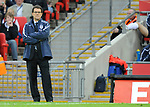 England manager Fabio Capello during the Friendly International match at Wembley Stadium, London. Picture date 28th May 2008. Picture credit should read: Simon Bellis/Sportimage
