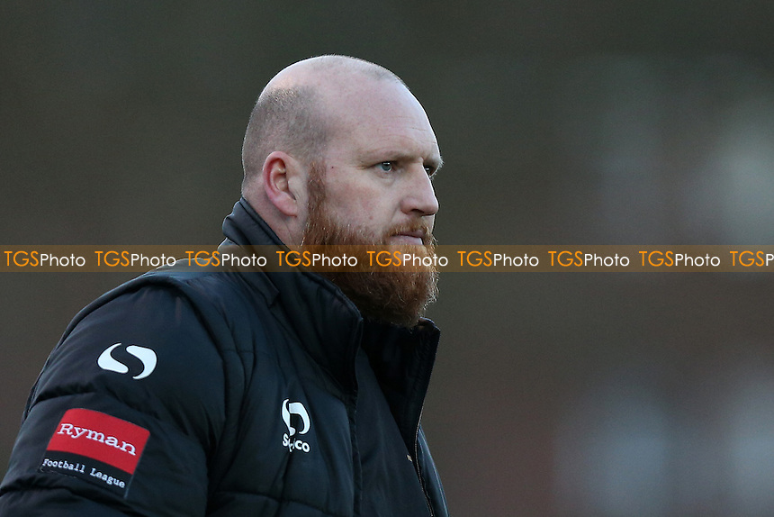 Romford manager Paul Martin during AFC Hornchurch vs Romford, Ryman League Division 1 North Football at Hornchurch Stadium on 4th February 2017