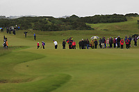 Daniella Barrett (FIN) on the 17th during Matchplay Semi-Finals of the Women's Amateur Championship at Royal County Down Golf Club in Newcastle Co. Down on Saturday 15th June 2019.<br /> Picture:  Thos Caffrey / www.golffile.ie