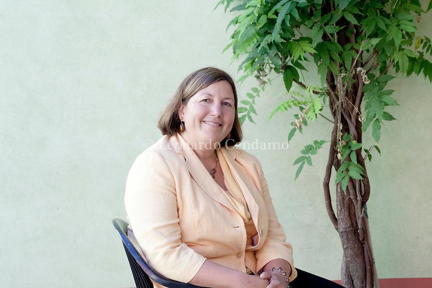 Kim Edwards, american writer. Mantova, 2011.  © Leonardo Cendamo