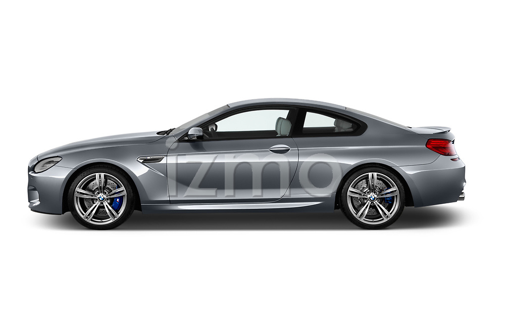 Car Driver side profile view of a 2017 BMW M6 - 2 Door Coupe Side View