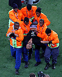 Jimmy Jump Soccer, Football - 2010 FIFA World Cup - Johannesburg, South Africa, Sunday, July, 11, 2010. Final match, Netherlands vs Spain, Soccer City Stadium (credit & photo: Pedja Milosavljevic / +381 64 1260 959 / thepedja@gmail.com / STARSPORT )