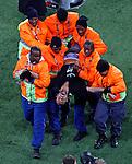 Jimmy Jump Soccer, Football - 2010 FIFA World Cup - Johannesburg, South Africa, Sunday, July, 11, 2010. Final match, Netherlands vs Spain, Soccer City Stadium (credit & photo: Pedja Milosavljevic / +381 64 1260 959 / thepedja@gmail.com / STARSPORT )