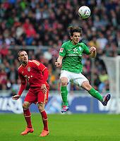 Fussball Bundesliga 2011/12: SV Werder Bremen - FC Bayern Muenchen
