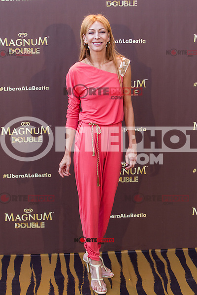 Elisa Matilla during the launch party for the new range of Magnum ice cream at  ME Hotel Reina Victoria. Jun 15,2016. (ALTERPHOTOS/Rodrigo Jimenez) /NortePhoto.com