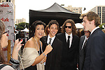 "ZACH CUMER, ZACK BENNETT, SEAN MICHAEL BEYER, WES WHITWORTH. Cast and friends of the web series, ""Poor Paul,"" attend the 2nd Annual Streamy Awards at the Orpheum Theatre in Downtown Los Angeles.  Los Angeles, CA, USA. 4/11/2010.."