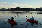 kayaks at Puerto Gato