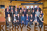 Kerry IFA officers at a function to mark the retirement of the Michael Berkery, general secretary, and John Dwyer, national pig meat committee, in Kate Kearneys on Saturday night. Pictured are Mary Fleming, Tom Carroll, Tom Lawlor, James McCarthy, county chairman, Michael Berkery, Kenny Jones, John Dwyer, Bridget O'Connor, Second row, James Doyle, Donal Counihan, Flor McCarthy, Patsy Herlihy, John Stack, Pat O'Driscoll, Sean Brosnan, John Roche and Teresa Keane. Back row, John Foley, Michael Murphy, Pat Hayes, Patrick O'Connor, William Shortall, Jerome Crowley, Frank Blackwell, John Joe Flavin and Michael Fleming...PR PHOTO.
