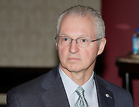 Montreal (QC) CANADA,  April 14, 2008-<br /> <br /> <br /> AndrÈ Desmarais, BComm 78, received an honorary doctorate from Concordiaís John Molson School of Business at its June 19 convocation. AndrÈ is President and CEO of Power Corporation, which was turned into a major Canadian company by his father, Paul Desmarais Sr. Power Corporation has assets in North America, Europe and Asia in media, pulp and paper, and financial services. AndrÈ was an honorary patron for Concordiaís Campaign for a New Millennium, 1996-99.