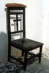 praying chair<br /> <br /> Betstuhl<br /> <br /> Original: 35 mm slide transparency