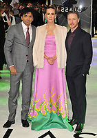 M. Night Shyamalan, Sarah Paulson and James McAvoy at the &quot;Glass&quot; UK film premiere, Curzon Mayfair, Curzon Street, London, England, UK, on Wednesday 09 January 2019.<br /> CAP/CAN<br /> &copy;CAN/Capital Pictures