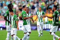 MEDELLÍN -COLOMBIA-3-ABRIL-2016.Acción de juego entre Atlético Nacional y Atlético Bucaramanga .Nacional ganó 7 goles por cero. Photo:VizzorImage / León Monsalve / Contribuidor