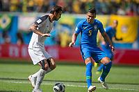 Saint Petersburg, RUSSIA - Friday, June 22, 2018: Brazil beat Costa Rica 2-0 at Saint Petersburg Stadium in the western portion of Krestovsky Island in Saint Petersburg.