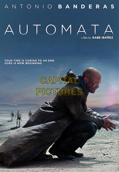 POSTER ART<br /> in Automata (2014) <br /> *Filmstill - Editorial Use Only*<br /> CAP/NFS<br /> Image supplied by Capital Pictures