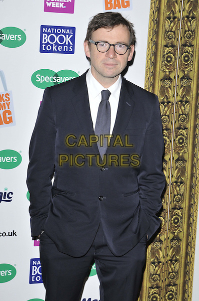 LONDON, ENGLAND - NOVEMBER 26: David Nicholls attends the Specsavers National Book Awards 2014, Foreign &amp; Commonwealth Office, King Charles St., on Wednesday November 26, 2014 in London, England, UK. <br /> CAP/CAN<br /> &copy;Can Nguyen/Capital Pictures