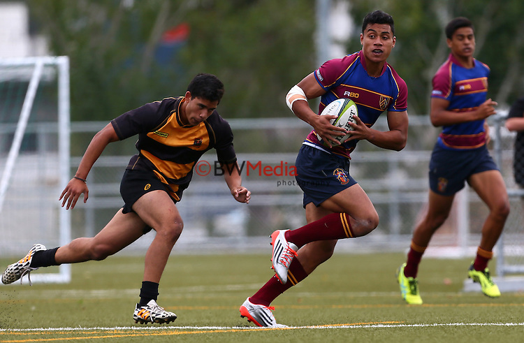 Kings Rugby 10s, Auckland, Saturday 7 March 2015. Photo: Simon Watts/ www.bwmedia.co.nz <br /> All images &copy; BWMedia.co.nz