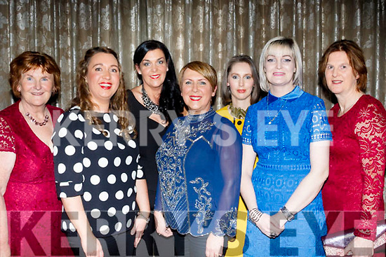 L-R Mary Cahill, Coleen hutchinson, Joanne Houlihan, Mary Roche, Niamh O'Donnell, Caroline Quirke and Geraldine O'Brien enjoying the Bon Secure Hospital, Tralee, Foundation day celebration, last Friday night in the Ballygarry House hotel, Tralee.