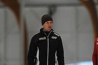 SCHAATSEN: LEEUWARDEN: 20-06-2016, ELFSTEDENHAL, Zomerijs, nieuwe sprinttrainer Noorse schaatsers Jeremy Wotherspoon, ©foto Martin de Jong