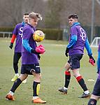 06.04.2018 Rangers training:<br /> Sean Goss and Jason Cummings