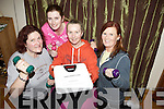 CAMPS BIGGEST LOSER: Women from Camp in West Kerry have teamed up to lose weight in six weeks with a prize fund for the biggest loser. From l-r were: Una Hanley, Mary Chambers, Ann O'Connell and Frances McGaley.