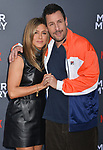 "Jennifer Aniston, Adam Sandler 045 arrives at the LA Premiere Of Netflix's ""Murder Mystery"" at Regency Village Theatre on June 10, 2019 in Westwood, California"
