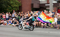 Seattle PrideFest 2015, Washington State, WA, America, USA.