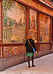 Tiled wall of a Tablao Flamenco Villa Rosa, just off of Plaza Santa Anna