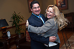 Richard Cantu and Gretchen Larson decide to waltz at the East Aldine Annual Partners Reception and Dinner