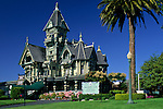 The victorian Carson Mansion, Eureka, Humboldt County, CALIFORNIA