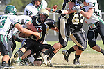 October 9, 2009: Devon Rall (C) (South #7), Eric Cappachione (South #43), Ryan Pierson (#3), Robby Ahumada (#61)