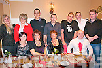 After Xmas Party: The staff of the Listowel Branch of Lidl enjoying their after Xmas party at The Horseshoe Bar in Listowel on Friday Night last. Front: Jacinta Twomey, Mary Healy, Helen Culhane & Tomasz Ruliaic. Back : Kate Rastenienie, Dana Tmonina, Pawel Surdyk, Michael Collins, James Dugga & Derek James.