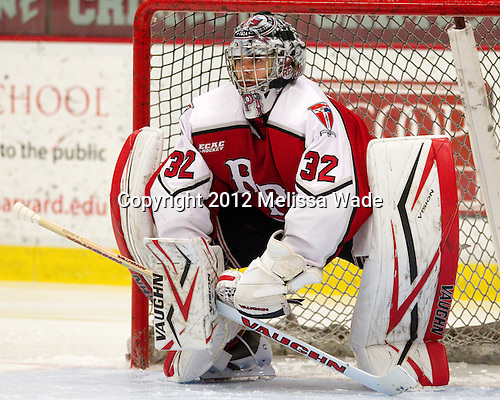 Bryce Merriam (RPI - 32) - The Harvard University Crimson defeated the visiting Rensselaer Polytechnic Institute Engineers 4-0 (EN) on Saturday, November 10, 2012, at Bright Hockey Center in Boston, Massachusetts.