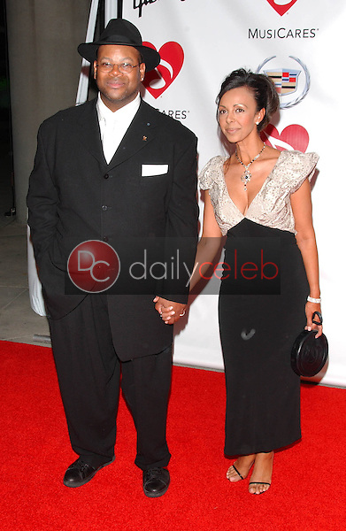 Jimmy Jam and friend<br />at the 2006 MusiCares Person of the Year Gala. Los Angeles Convention Center, Los Angeles, CA 02-06-06<br />Dave Edwards/DailyCeleb.com 818-249-4998