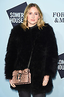 Rosie Fortescue<br /> arriving for the Skate at Somerset House 2017 opening, London<br /> <br /> <br /> ©Ash Knotek  D3351  14/11/2017