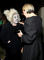 """LOS ANGELES - OCTOBER 26: (L-R) Kathy Bates and Sarah Paulson attend the red carpet event to celebrate 100 episodes of FX's """"American Horror Story"""" at Hollywood Forever Cemetery on October 26, 2019 in Los Angeles, California. (Photo by John Salangsang/FX/PictureGroup)"""