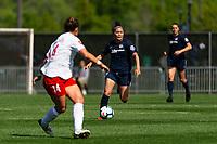 Piscataway, NJ - Saturday May 11, 2019: A National Women's Soccer League match between Sky Blue FC and Washington Spirit at Yurcak Field.