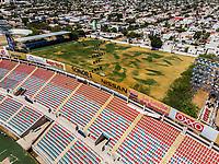 Vista aerea de Complejo deportivo de la Comisi&oacute;n Estatal de Deporte, CODESON en Hermosillo, Sonora....<br /> <br /> Grader&iacute;o, Gradas y butacas del Estadio H&eacute;roe de Nacozari. Muchos, Varios. <br /> Azul y Rojo.<br /> Campo de tiro Con Arco.<br /> <br /> <br /> Photo: (NortePhoto / LuisGutierrez)<br /> <br /> ...<br /> keywords:
