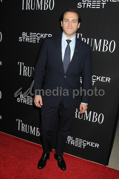 "27 October 2015 - Beverly Hills, California - Michael Stuhlbarg. ""Trumbo"" Los Angeles Premiere held at the AMPAS Samuel Goldwyn Theater. Photo Credit: Byron Purvis/AdMedia"