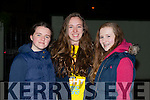 Rosha Courtney, Katie O'Reilly and Elana Lane Killarney at the Darkness into Light walk at Killarney Racecourse Saturday morning