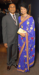 Suresh and Renu Khator at the Arts of India Gallery launch party at the Museum of Fine Arts Houston Thursday May 14,2009.(Dave Rossman/For the Chronicle)