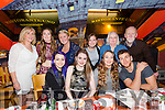 Tralee Gymnastics Club enjoying their Christmas party at Ristorante Uno on Saturday. Pictured front Miren McLoughlin, Gemma O Connor, Shannon O Sullivan, Isaac Kerins. Back l-r Tricia O'Malley, Joanne O' Connor, Martina Rochford, Aisling O'Malley, Teresa Murphy and John Murphy