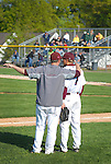 A coach gives instructions to a player