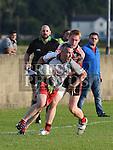 Sean McDermotts Kevin McGahon St Kevins Lee Crosbie. Photo:Colin Bell/pressphotos.ie