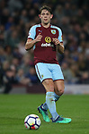 James Tarkowski of Burnley in action during the premier league match at the Turf Moor Stadium, Burnley. Picture date 19th April 2018. Picture credit should read: Simon Bellis/Sportimage
