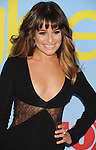HOLLYWOOD, CA - SEPTEMBER 12: Lea Michele arrives at the 'GLEE' Premiere Screening And Reception at Paramount Studios on September 12, 2012 in Hollywood, California.