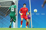Masatoshi Kushibiki (JPN), <br /> AUGUST 4, 2016 - Football / Soccer : <br /> Men's First Round Group B <br /> between Nigeria 5-4 Japan <br /> at Amazonia Arena <br /> during the Rio 2016 Olympic Games in Manaus, Brazil. <br /> (Photo by YUTAKA/AFLO SPORT)