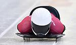 Anthony Watson (JAM). Skeleton training. Alpensia sliding centrePyeongchang2018 winter Olympics. Alpensia. Republic of Korea. 13/02/2018. ~ MANDATORY CREDIT Garry Bowden/SIPPA - NO UNAUTHORISED USE - +44 7837 394578