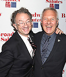 William Ivey Long & Walter Bobbie attending the 'Broadway Salutes' honoring those who make Broadway Great at the Timers Square Visitors Center in Times Square,  New York City on 9/20/2012.